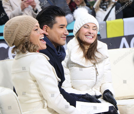 Stock Photo of Kit Hoover, Mario Lopez and Susan Lucci