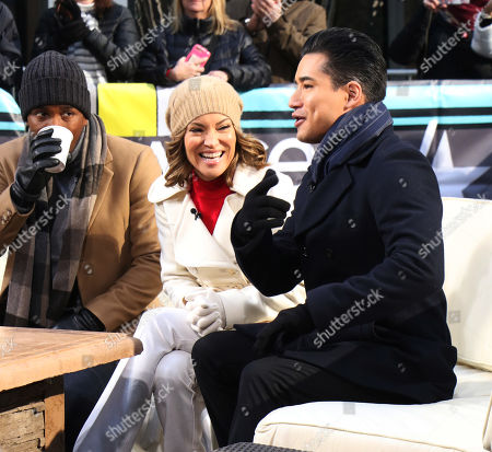 Scott Evans, Kit Hoover and Mario Lopez