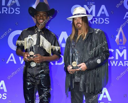 Stock Picture of Lil Nas X and Billy Ray Cyrus