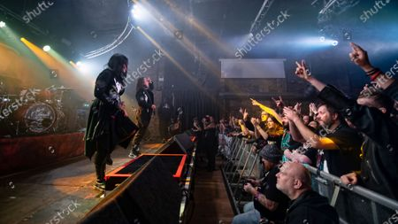 Editorial picture of Lacuna Coil in Concert at The Garage, Glasgow, Scotland, UK - 13 Nov 2019
