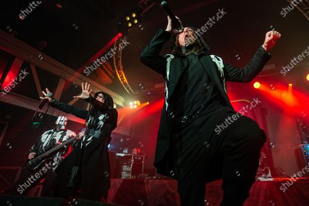Editorial image of Lacuna Coil in Concert at The Garage, Glasgow, Scotland, UK - 13 Nov 2019