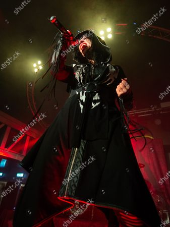 Editorial photo of Lacuna Coil in Concert at The Garage, Glasgow, Scotland, UK - 13 Nov 2019