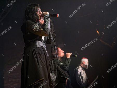 Lacuna Coil - Andrea Ferro, Marco Coti Zelati, Cristina Scabbia