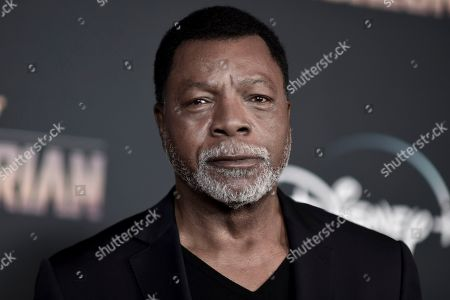 "Carl Weathers attends the LA premiere of ""The Mandalorian,"" at the El Capitan Theatre, in Los Angeles"