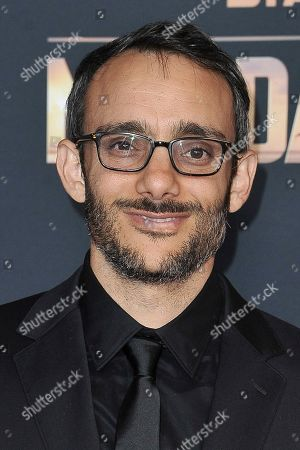 """Omid Abtahi attends the LA premiere of """"The Mandalorian"""" at the El Capitan Theatre, in Los Angeles"""