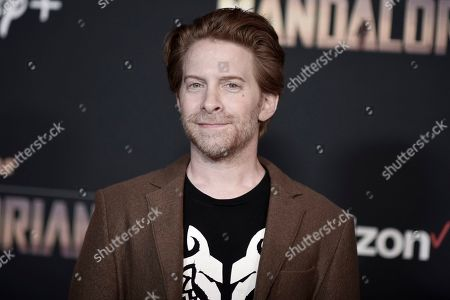 "Seth Green attends the LA premiere of ""The Mandalorian"" at the El Capitan Theatre, in Los Angeles"