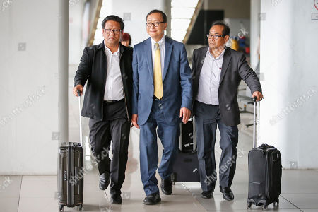 Editorial picture of Self-exiled former Cambodian opposition leader Sam Rainsy visits Jakarta, Indonesia - 14 Nov 2019