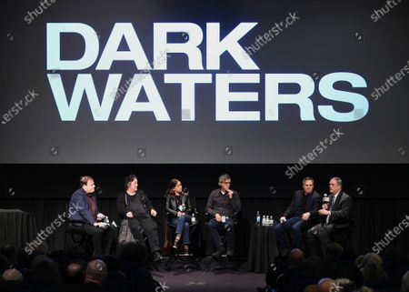 Stock Photo of Christian Blauvelt, Christine Vachon, Pamela Koffler, Todd Haynes, Mark Ruffalo and Rob Bilott