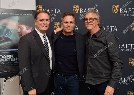 Rob Bilott, Mark Ruffalo and Todd Haynes