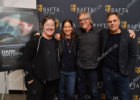 Christine Vachon, Pamela Koffler, Todd Haynes and Mark Ruffalo