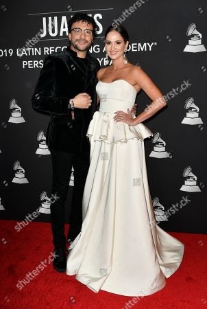 Editorial picture of 'Latin Grammy Awards' Person of the Year Gala, Arrivals, Las Vegas, USA - 13 Nov 2019