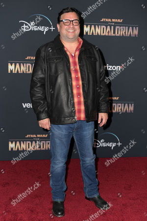 Stock Picture of Horatio Sanz arrives at the premiere of the Disney Plus web television series 'The Mandalorian' at El Capitan Theatre in Los Angeles, California, USA, 13 November 2019.