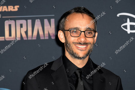 Omid Abtahi arrives at the premiere of the Disney Plus web television series 'The Mandalorian' at El Capitan Theatre in Los Angeles, California, USA, 13 November 2019.