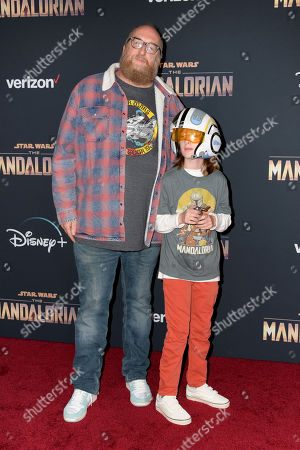 Editorial picture of The Mandalorian premieres in Los Angeles, USA - 13 Nov 2019