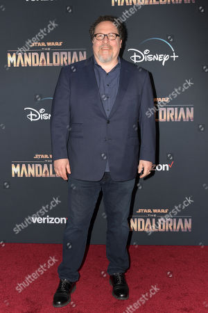 Jon Favreau arrives at the premiere of the Disney Plus web television series 'The Mandalorian' at El Capitan Theatre in Los Angeles, California, USA, 13 November 2019.