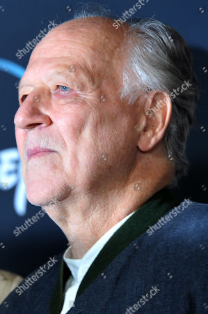 Werner Herzog arrives at the premiere of the Disney Plus web television series 'The Mandalorian' at El Capitan Theatre in Los Angeles, California, USA, 13 November 2019.