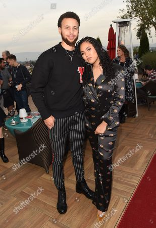 Ayesha Curry and Stephen Curry attends Variety's Vivant launch during the Napa Valley Film Festival, held at Archer Hotel, Napa Valley, CA @NapaFilmFest #NVFF19