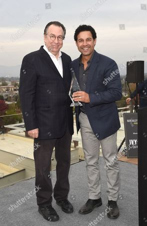 Jon Huertas and Variety EVP Steven Gaydos attends Variety's Vivant launch during the Napa Valley Film Festival, held at Archer Hotel, Napa Valley, CA @NapaFilmFest #NVFF19