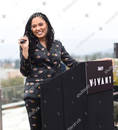 Stock Photo of Ayesha Curry attends Variety's Vivant launch during the Napa Valley Film Festival, held at Archer Hotel, Napa Valley, CA @NapaFilmFest #NVFF19