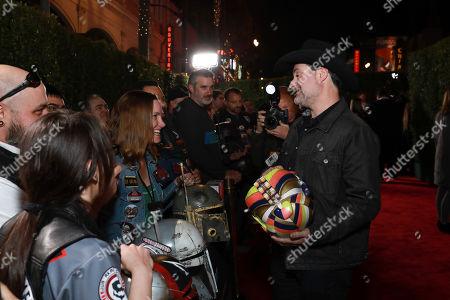 "Dave Filoni attends the LA Premiere of ""The Mandalorian"" at the El Capitan theatre on in Los Angeles"