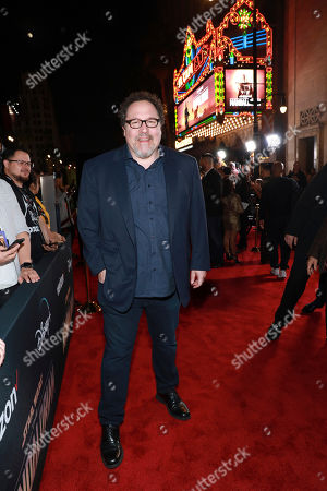"Stock Picture of Jon Favreau attends the LA Premiere of ""The Mandalorian"" at the El Capitan theatre on in Los Angeles"