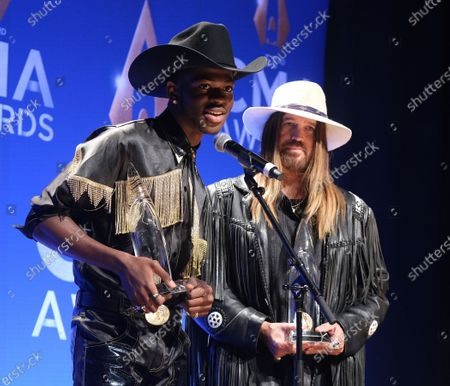 Stock Image of Lil Nas X and Billy Ray Cyrus