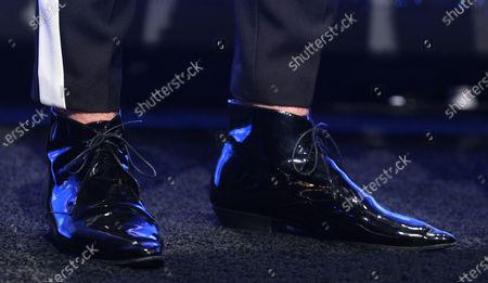 Dan + Shay - Dan Smyers, shoe detail