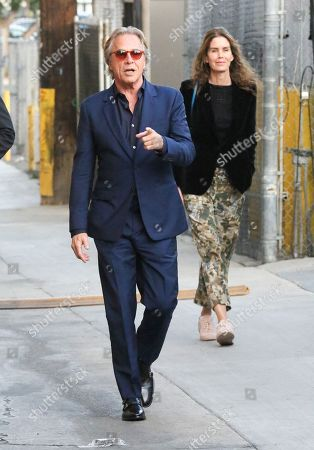 Don Johnson and his wife Kelley Phleger