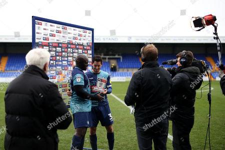 Editorial photo of Tranmere Rovers v Wycombe Wanderers, EFL Sky Bet League One, Football, Prenton Park, UK - 17 Nov 2019