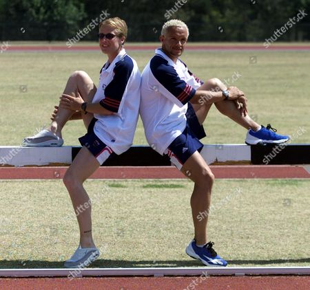 Olympic Training Camp The Gold Coast. Australia. Athlete's Katharine Merry And Jamie Baulch.
