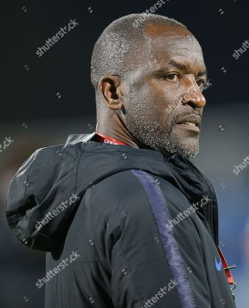 Stock Image of England coach Chris Powell