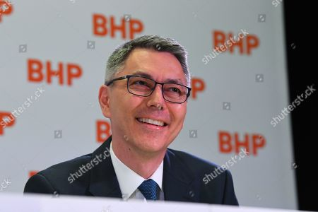 Editorial image of Mining giant BHP names Mike Henry as next chief executive, Melbourne, Australia - 14 Nov 2019
