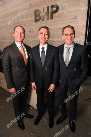 Editorial picture of Mining giant BHP names Mike Henry as next chief executive, Melbourne, Australia - 14 Nov 2019