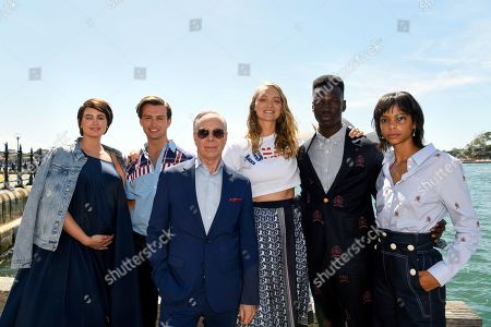 Editorial image of US designer Tommy Hilfiger in Sydney, Australia - 14 Nov 2019