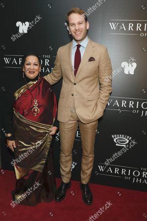 Swati Bhise, director and Ben Lamb