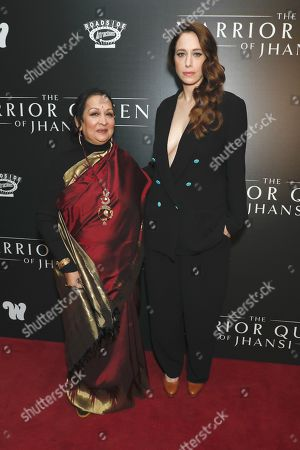 Editorial picture of 'The Warrior Queen Of Jhansi' film premiere, New York, USA - 13 Nov 2019