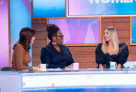 Editorial image of 'Loose Women' TV show, London, UK - 14 Nov 2019