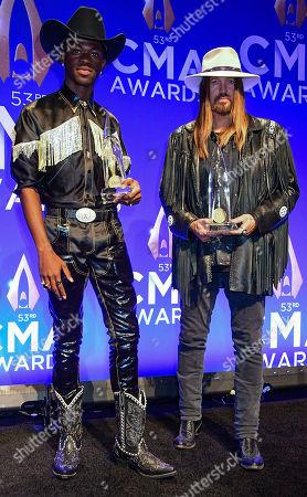 Editorial picture of 53rd Annual CMA Awards, Press Room, Bridgestone Arena, Nashville, USA - 13 Nov 2019