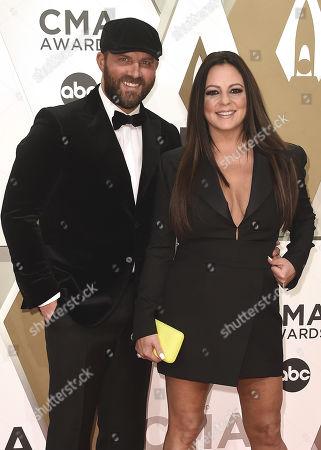 Jay Barker and Sara Evans