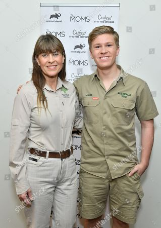 Terri Irwin and Robert Irwin
