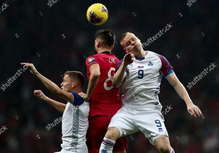 Editorial picture of Turkey vs Iceland, Istanbul - 14 Nov 2019