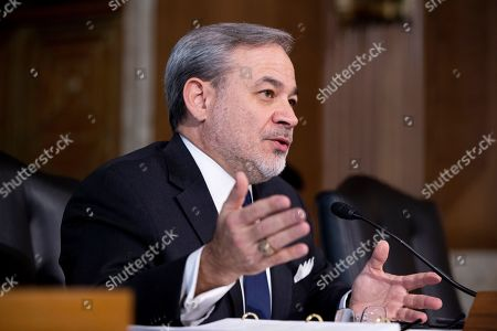 Editorial photo of Senate Energy and Natural Resources Committee hearing on the nomination of Dan Brouillette to be the US Energy Secretary, Washington, USA - 14 Nov 2019