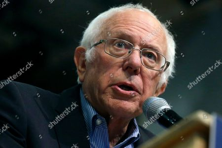 Stock Photo of Democratic presidential candidate Sen. Bernie Sanders, I-Vt., speaks at a campaign event, in Keene, N.H. Sanders is replacing his state director in the critical early-voting state of South Carolina. The campaign tells The Associated Press that Jessica Bright is heading up the campaign in South Carolina