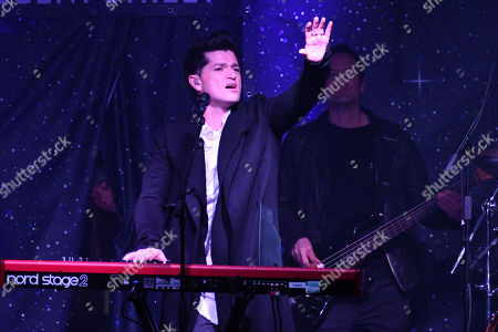Stock Photo of Daniel O'Donoghue from The Script