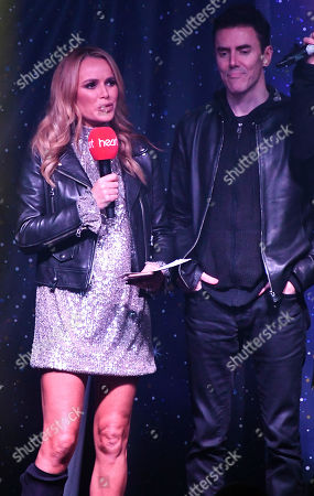 Amanda Holden and Glen Power from The Script