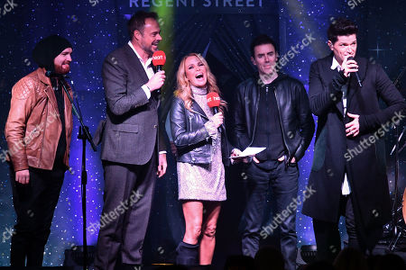 The Script, Jamie Theakston and Amanda Holden