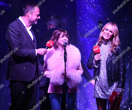 Jamie Theakston, Maisie Peters and Amanda Holden