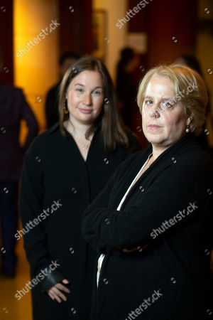 Stock Image of Roberta Kaplan, right, a lead lawyer in Sines v. Kessler, and Amy Spitalnick, executive director of Integrity First for America, the nonprofit funding the lawsuit, pose for a photo in Atherton Calif., . Sines v. Kessler was brought by a group of plaintiffs against white nationalists involved in planning a 2017 rally in Charlottesville, Va. in which one counter-protester was killed and several others were injured