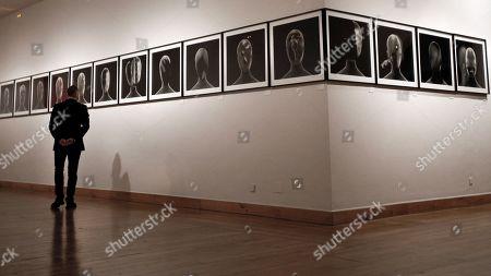 Editorial picture of David Lynch's exhibition in Gijon, Spain - 14 Nov 2019