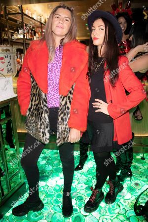 Annabel Simpson and Liz Cass